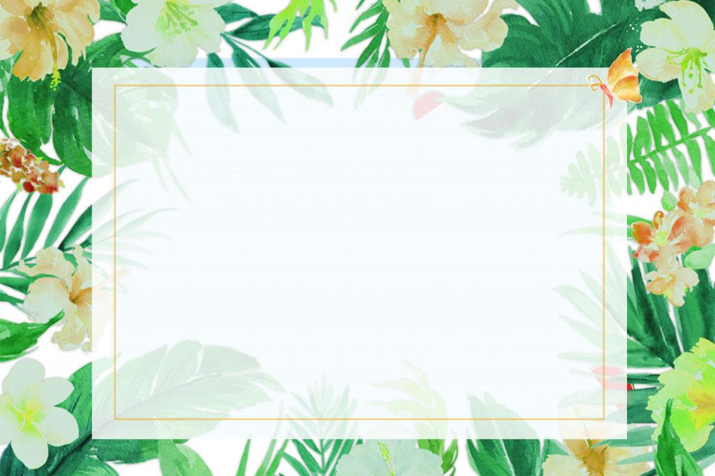Background hoa lá cây