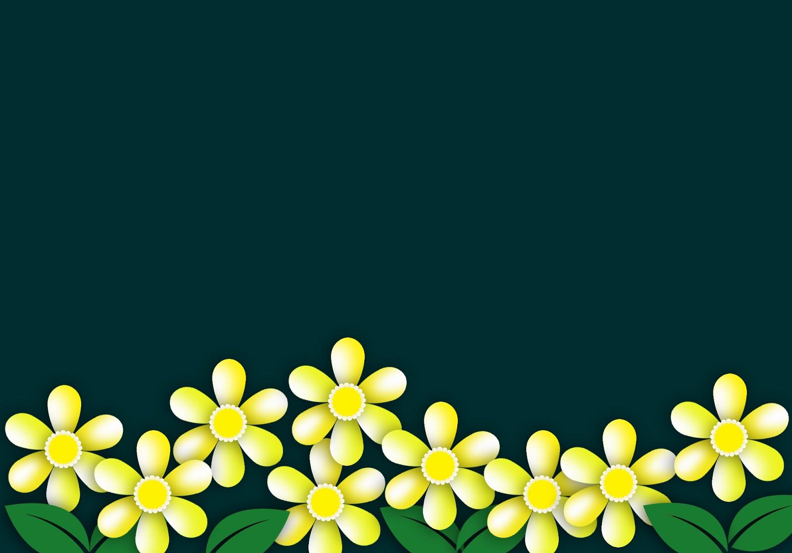 Background hoa lá đơn giản