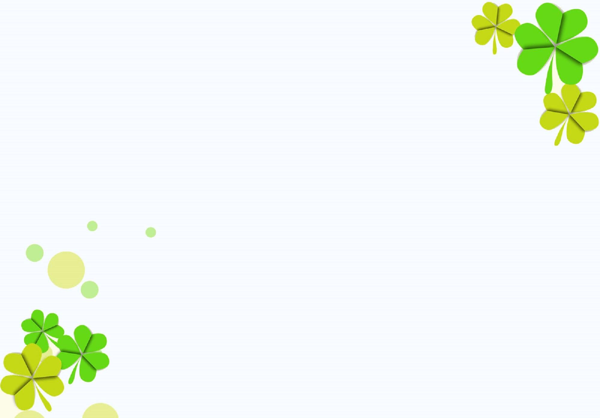 Background hoa lá đwon giản