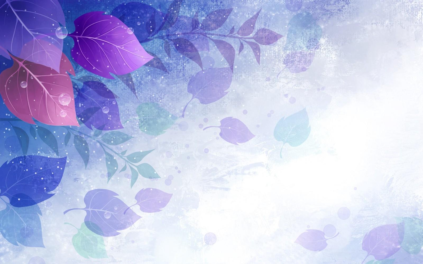 Background hoa lá màu tím