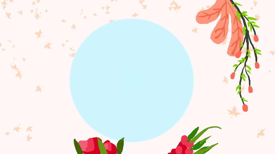Background hoa lá Nhật