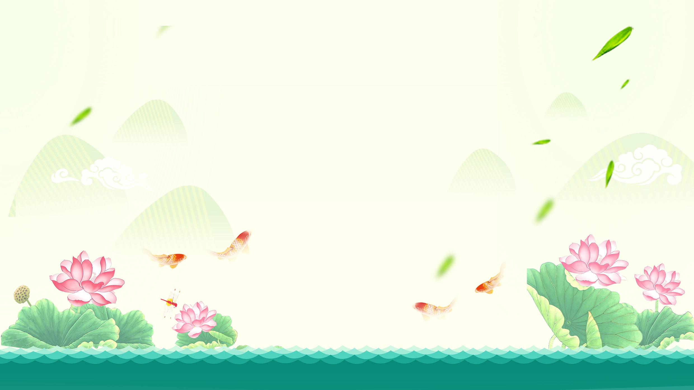Background hoa lá thiên nhiên