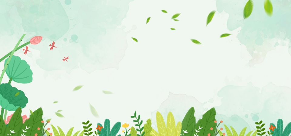 Background hoa lá tự nhiên