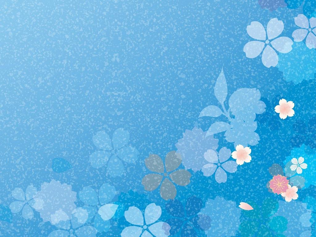 Background hoa lá xanh