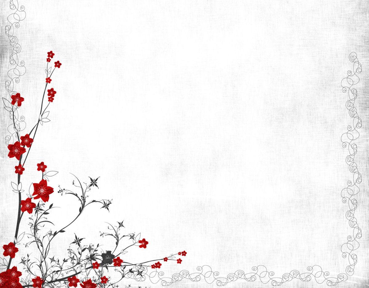 Background họa tiết hoa lá cành