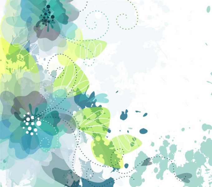 Background họa tiết hoa lá