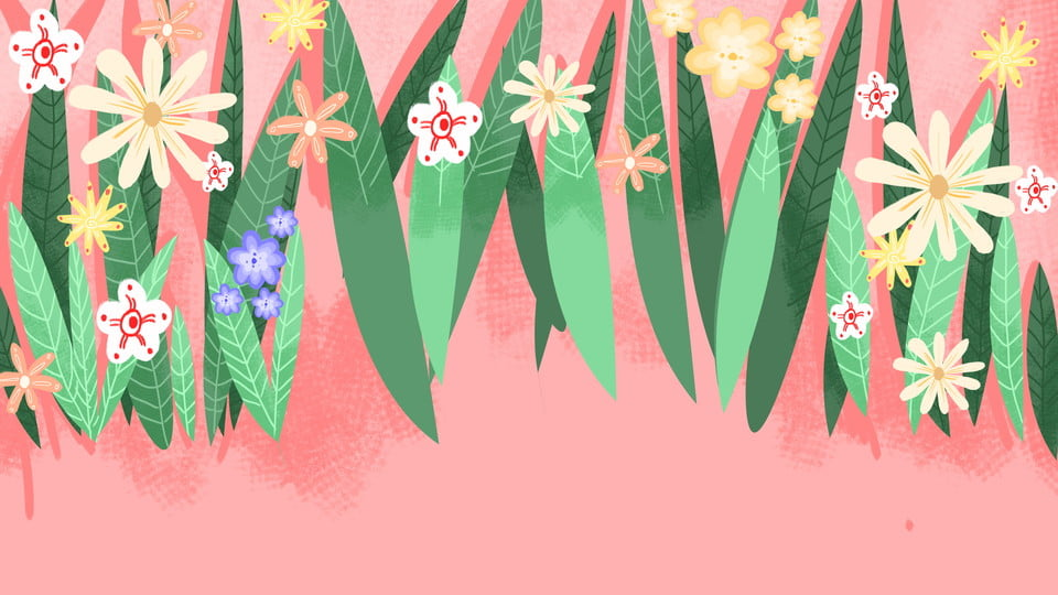 Background về hoa lá