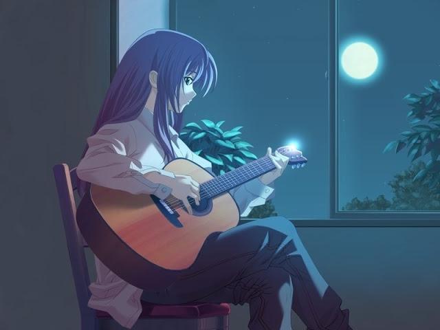 Hình ảnh anime cô đơn đẹp