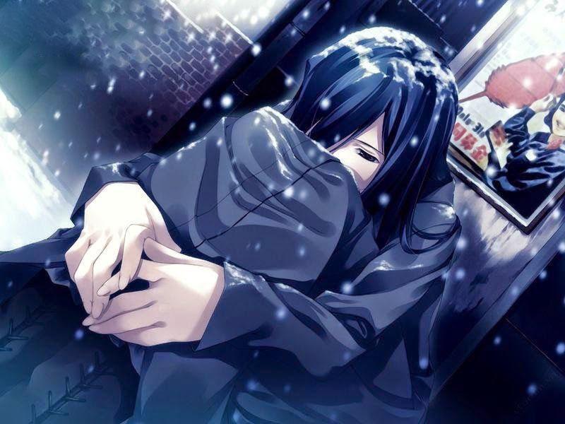 Hình ảnh anime cô đơn lạnh lẽo