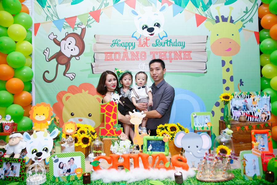Hình ảnh phông nền sinh nhật và gia đình