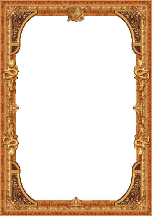 Khung viền cổ điển gỗ
