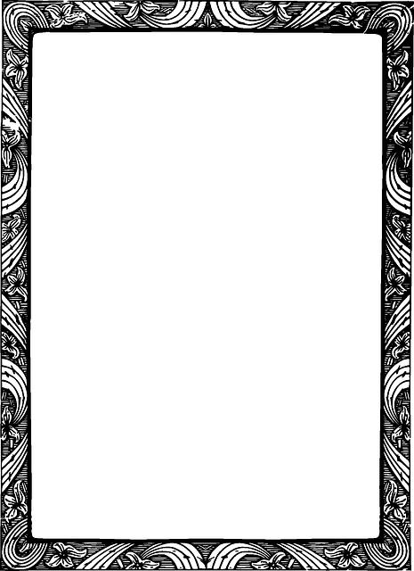 Mẫu khung ảnh cổ điển