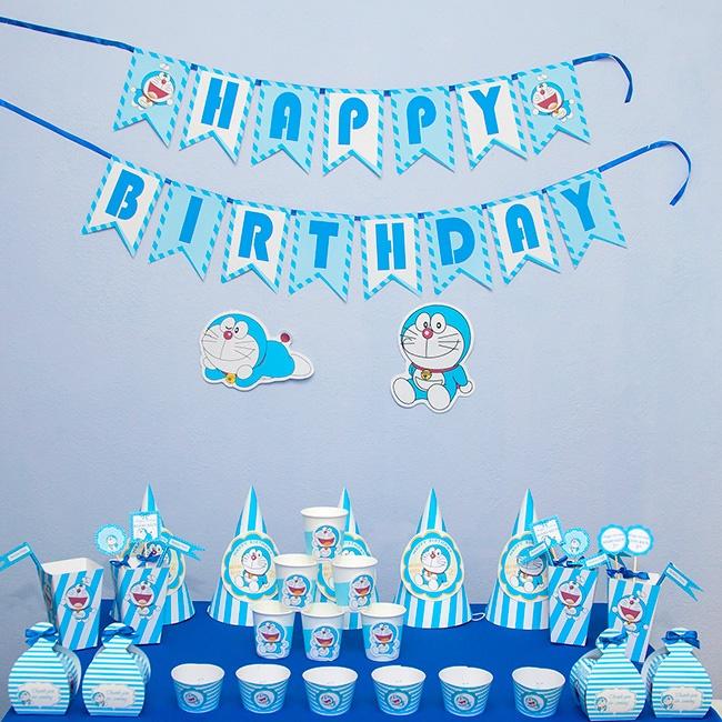 Phông nền sinh nhật trang trí đơn giản