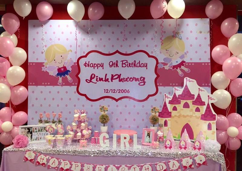 Phông nền trang trí sinh nhật
