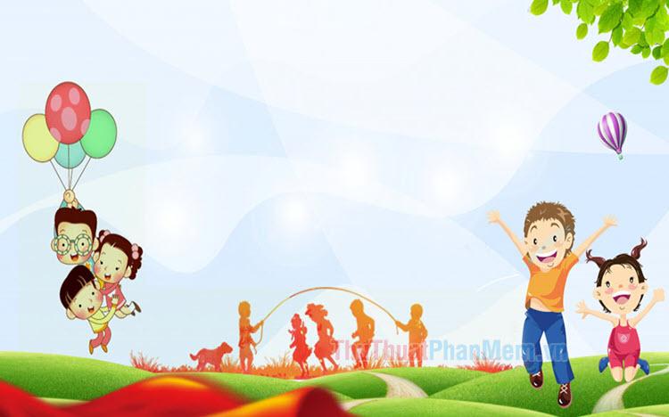 Background trẻ em đẹp