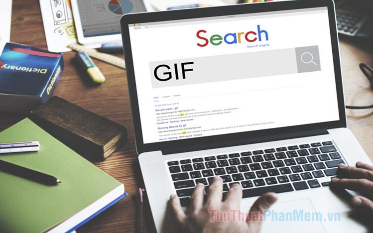 Cách lưu ảnh GIF về máy tính