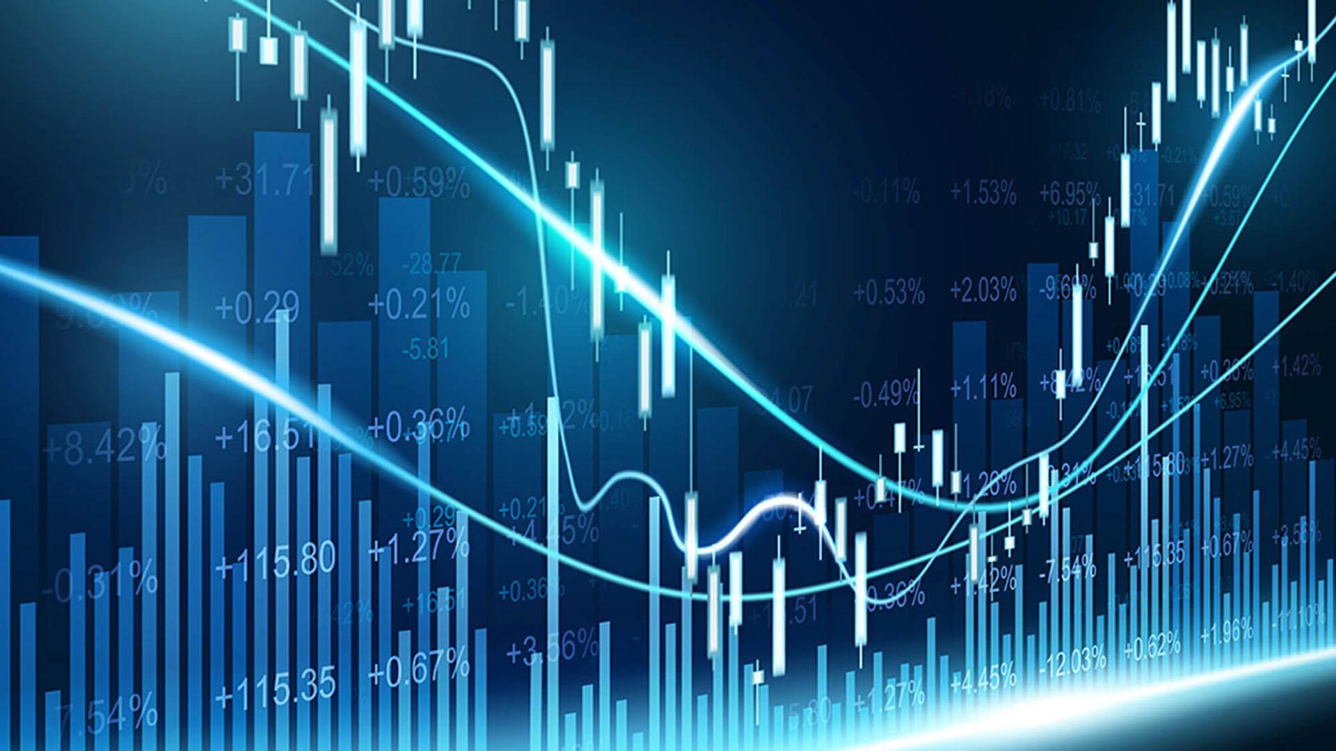 Ảnh nền chủ đề kinh tế cho PowerPoint