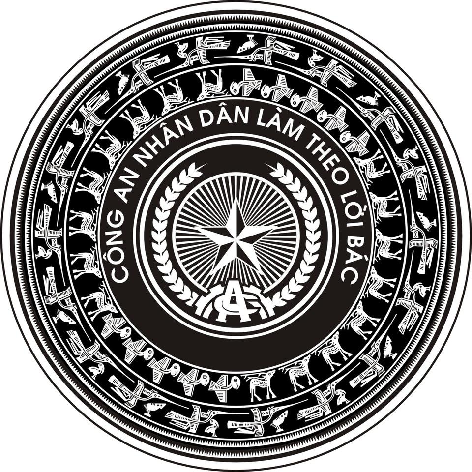 Background huy hiệu trống đồng