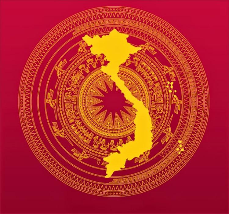 Background trống đồng Việt Nam