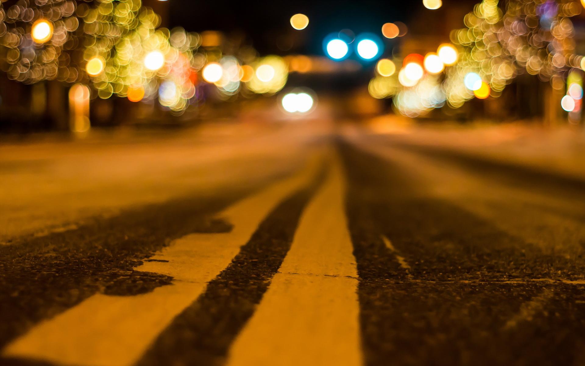 Hình ảnh Bokeh đường phố