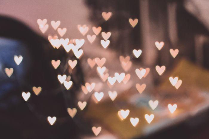 Hình ảnh Bokeh trái tim