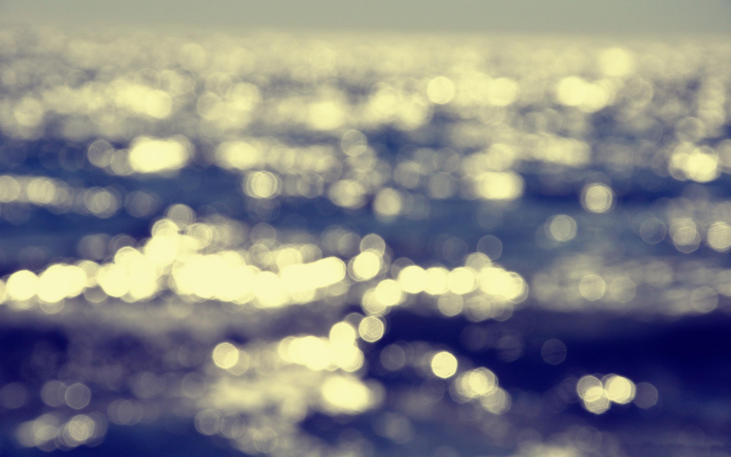 Hình ảnh Bokeh trên biển