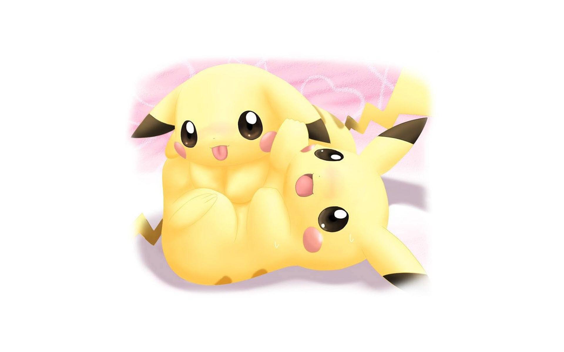 Hình nền hoạt hình pikachu