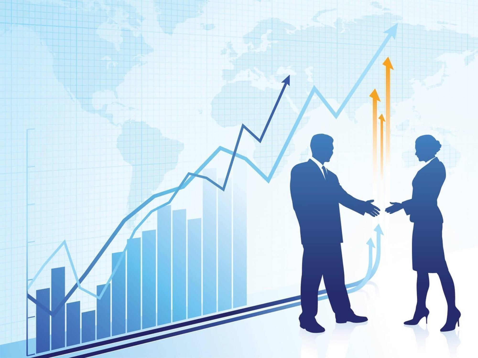 Hình nền Powerpoint kinh tế ngoại thương