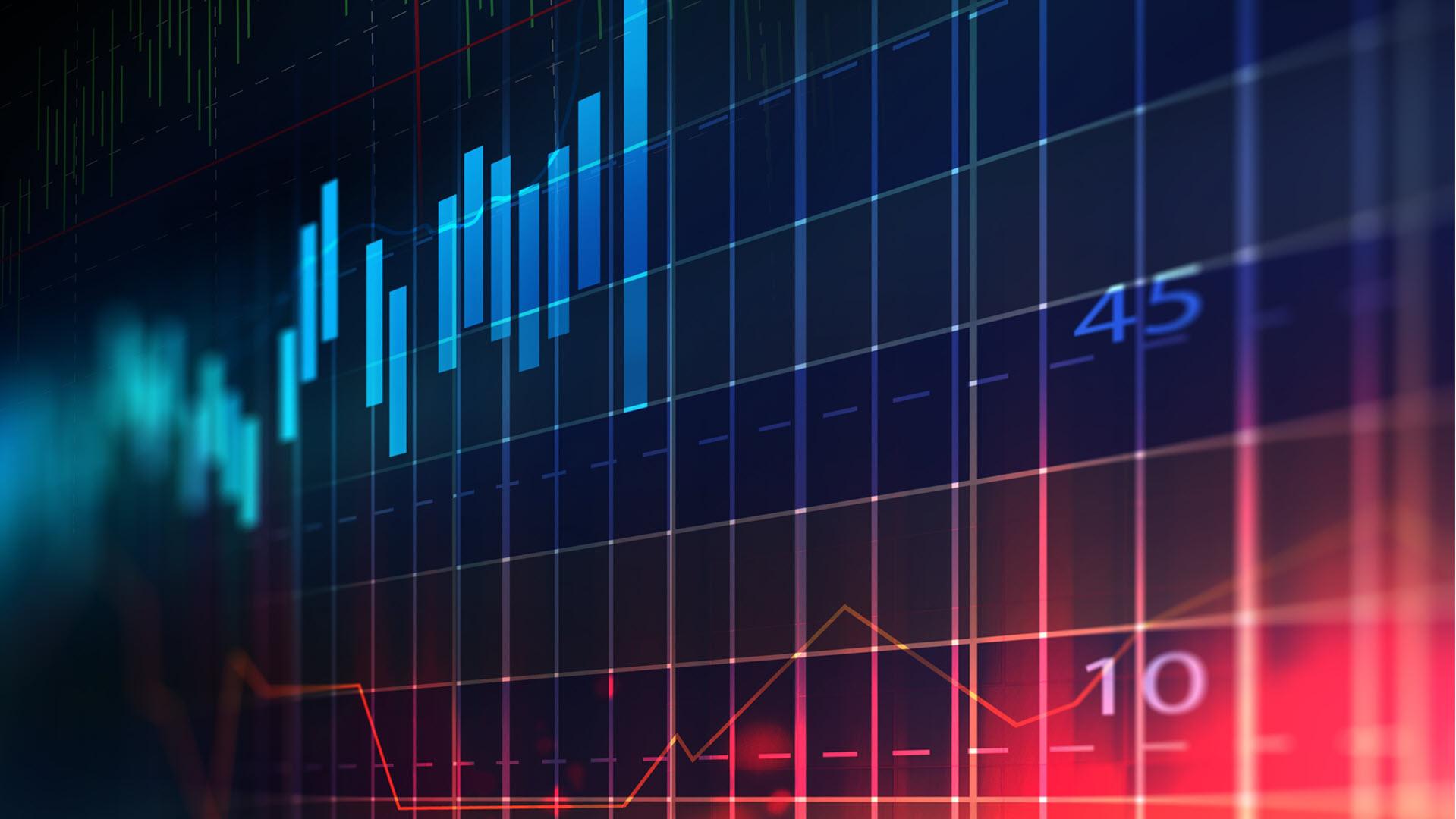 Hình nền Powerpoint kinh tế suy giảm