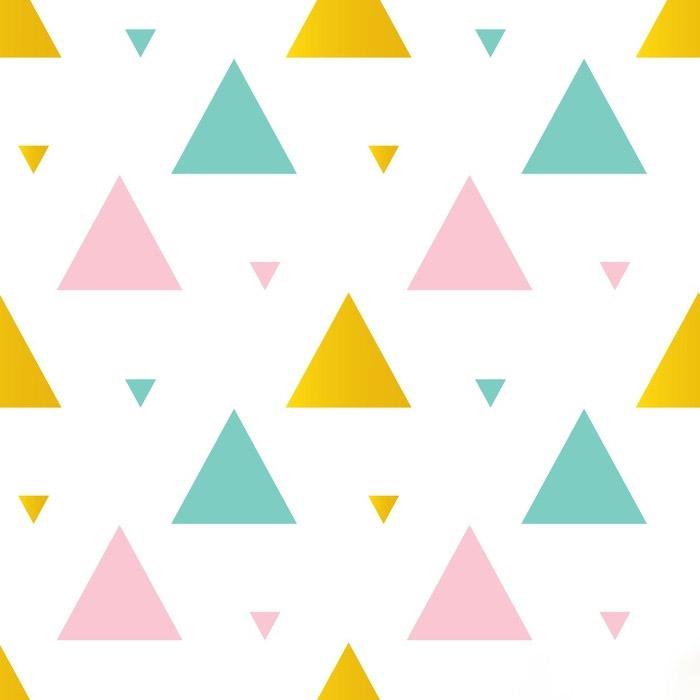 Ảnh hoa văn nền tam giác