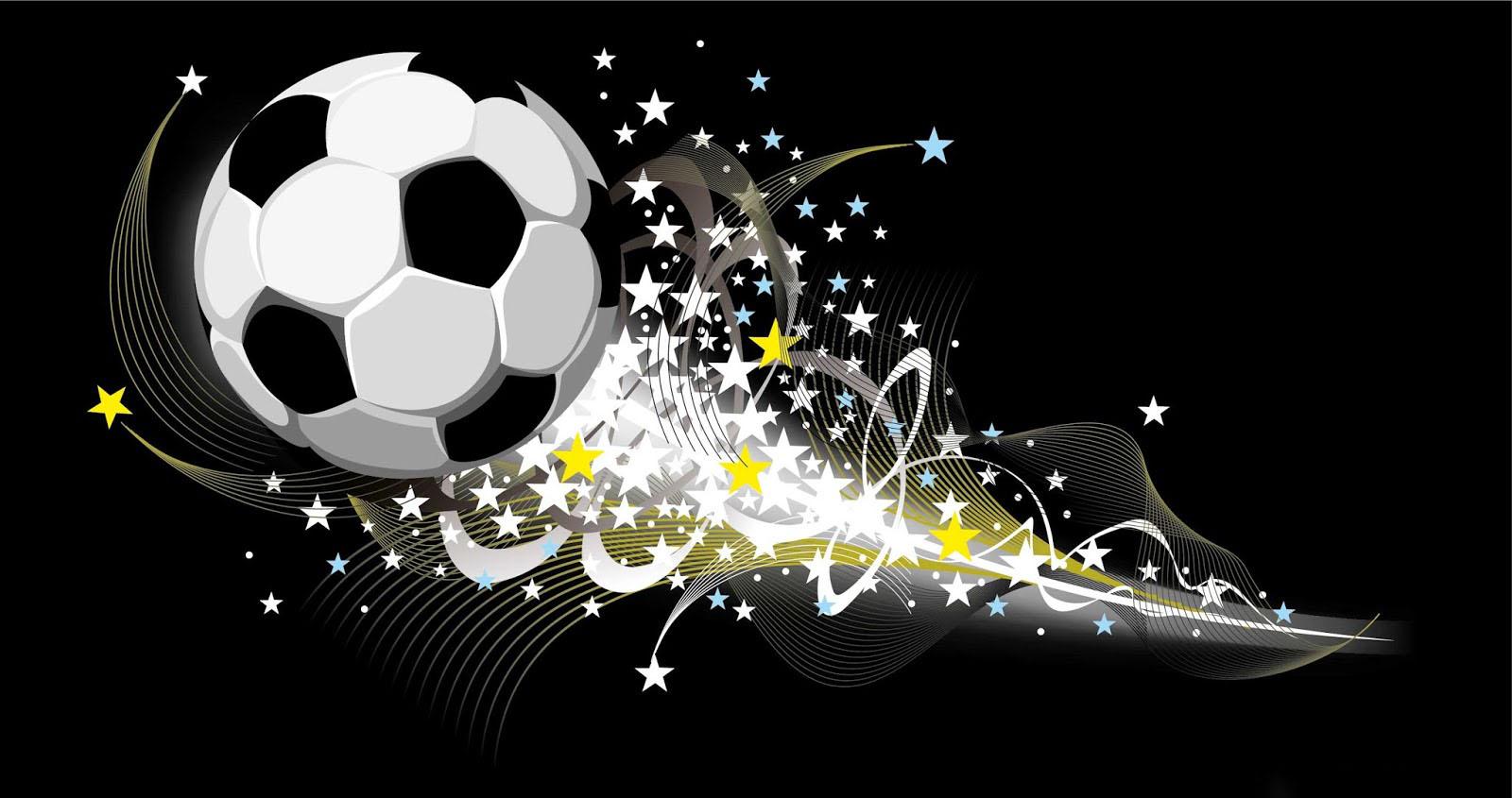 Background bóng đá 3D