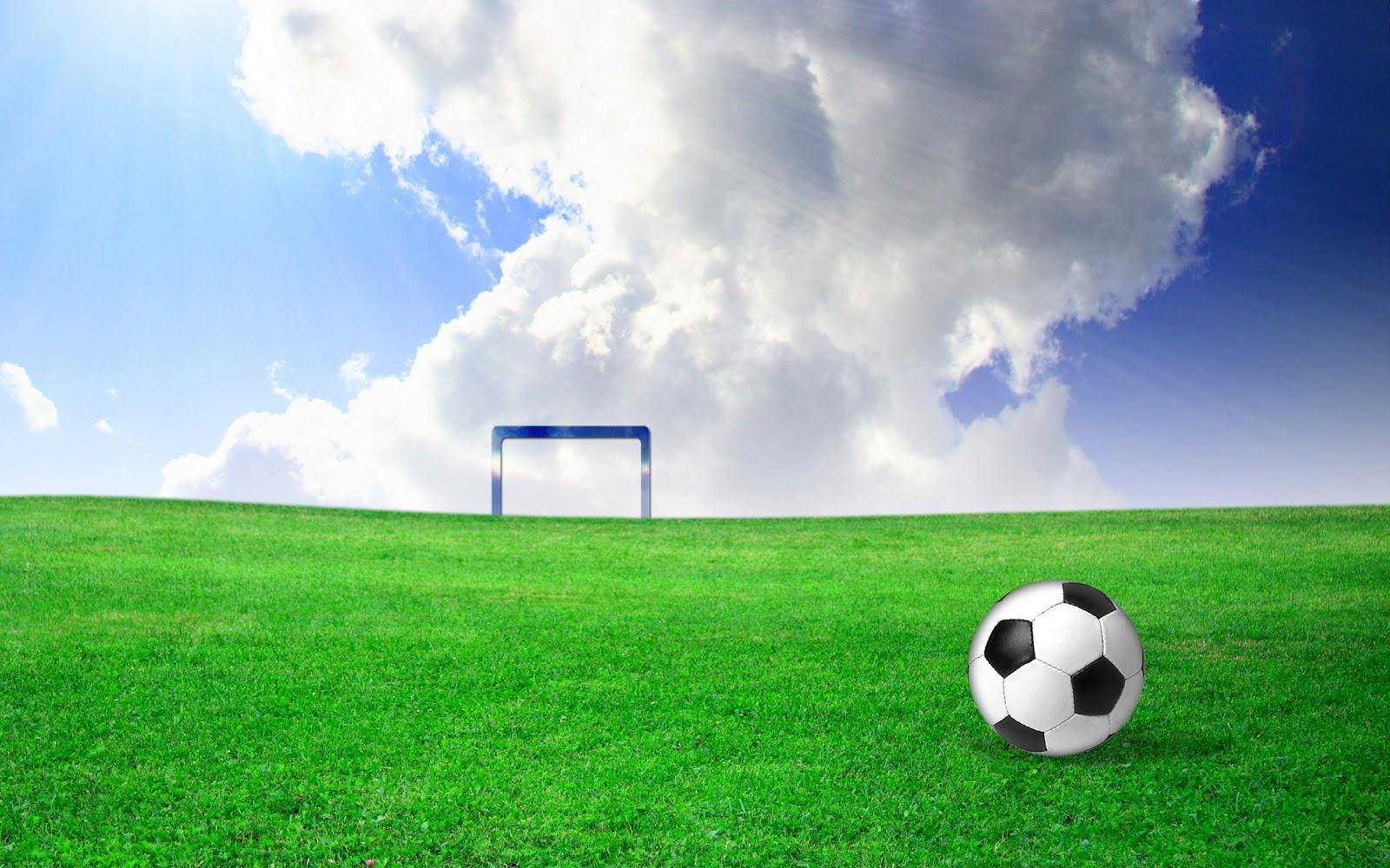 Background bóng đá và cầu môn