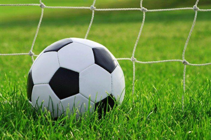Background bóng đá và sân cỏ