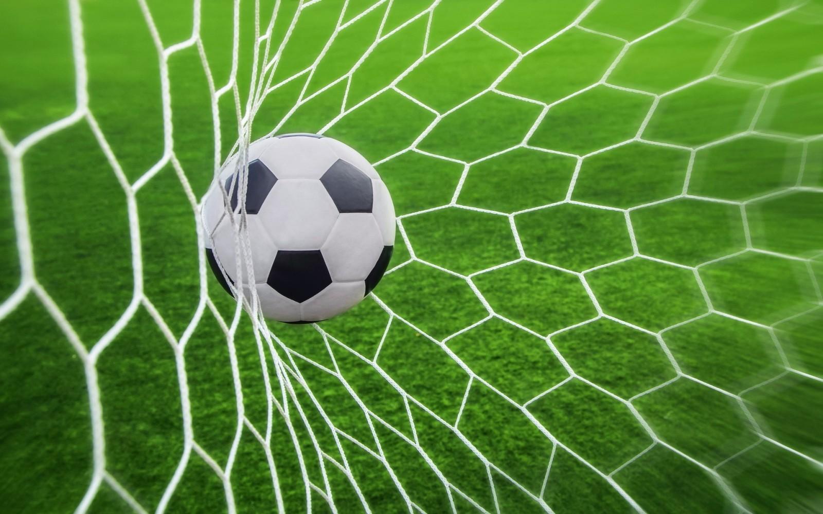 Background bóng đá vào lưới