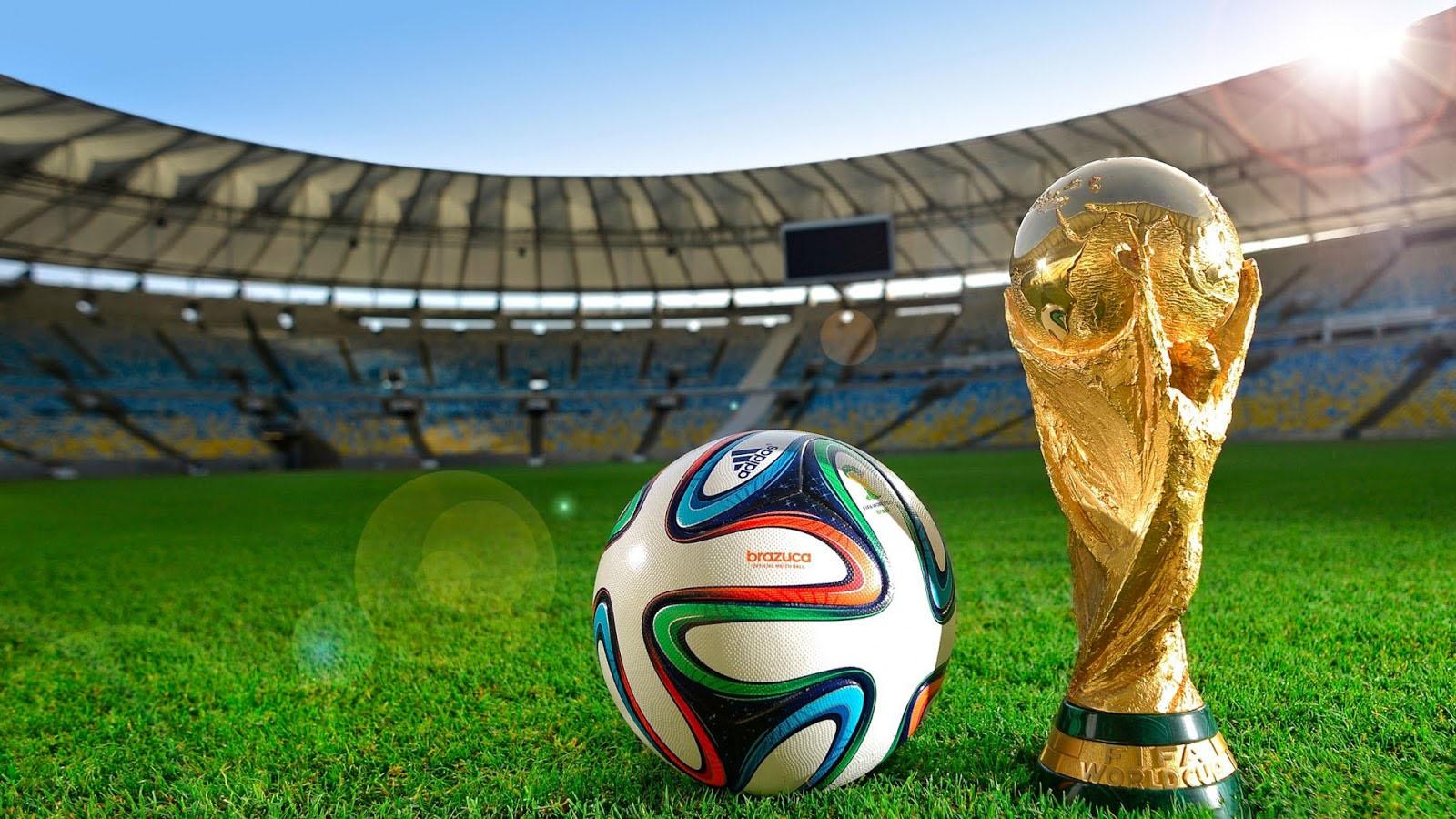 Background bóng đá world cup