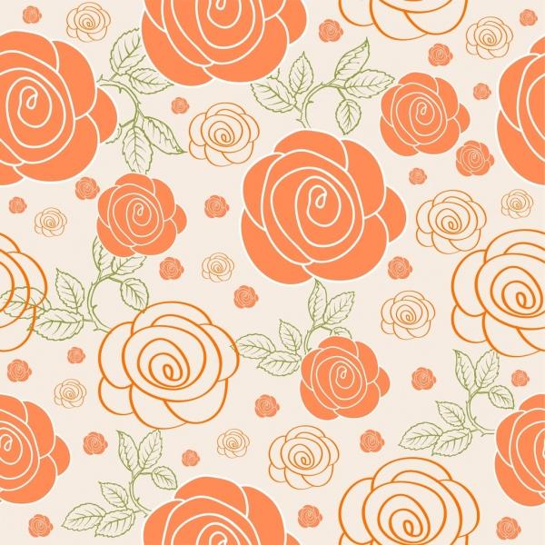 Background đẹp về bông hoa hồng
