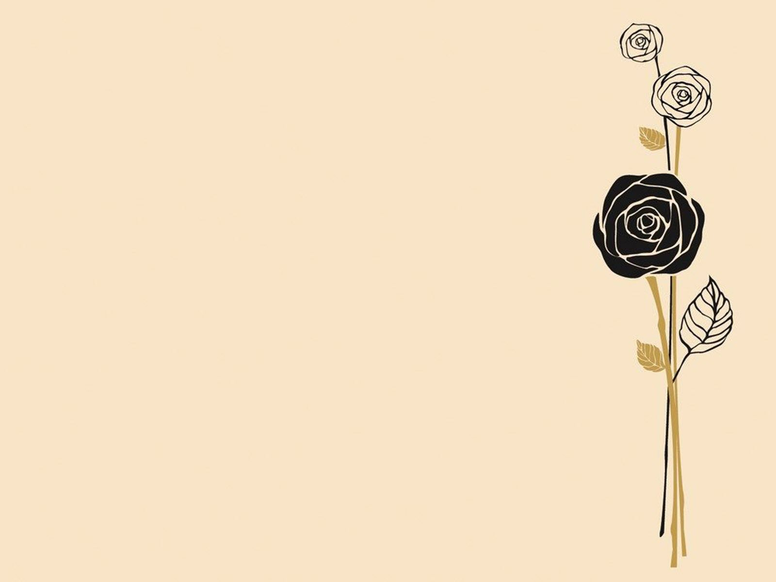 Background hoa hồng đơn giản