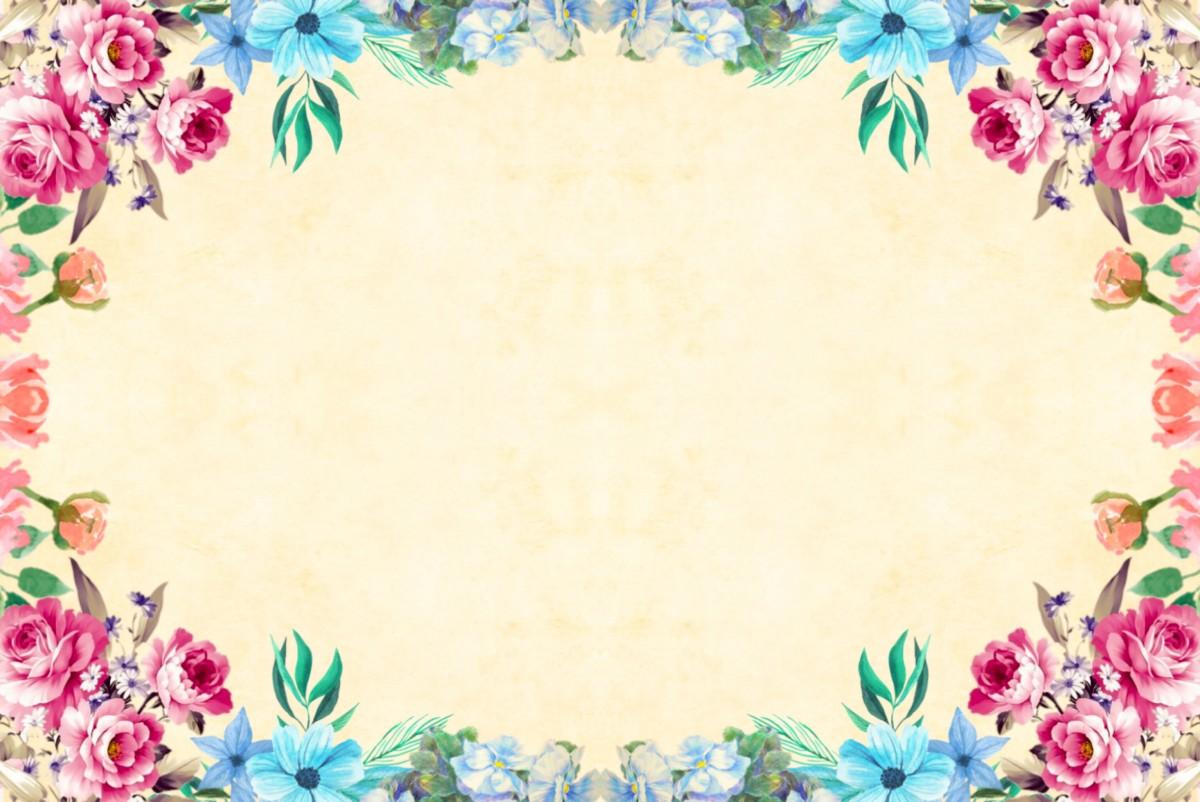 Background trang trí hoa hồng