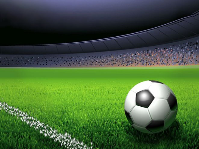 Hình ảnh background bóng đá 3D