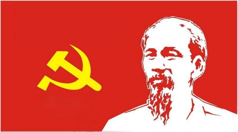Hình ảnh background đảng và bác Hồ