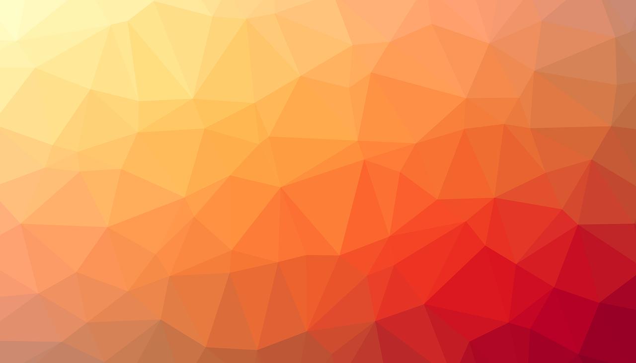 Hình ảnh background mảng màu tam giác sắc màu ấm