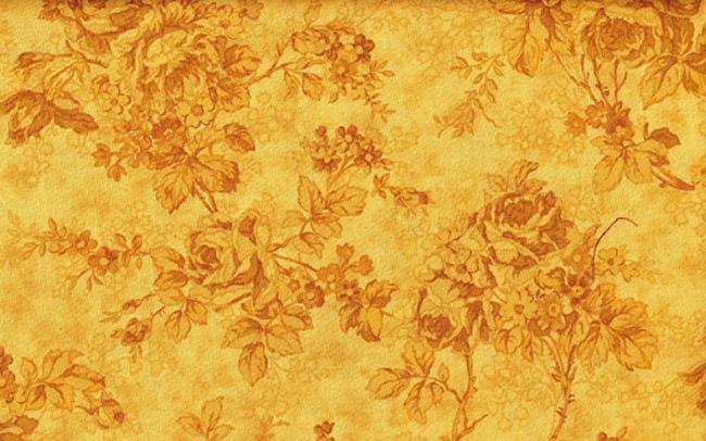 Hình ảnh hoa văn nền vàng đẹp