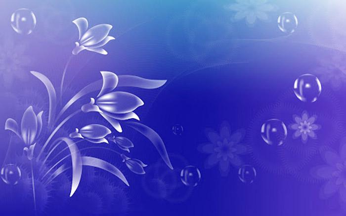 Hoa văn nền màu tím