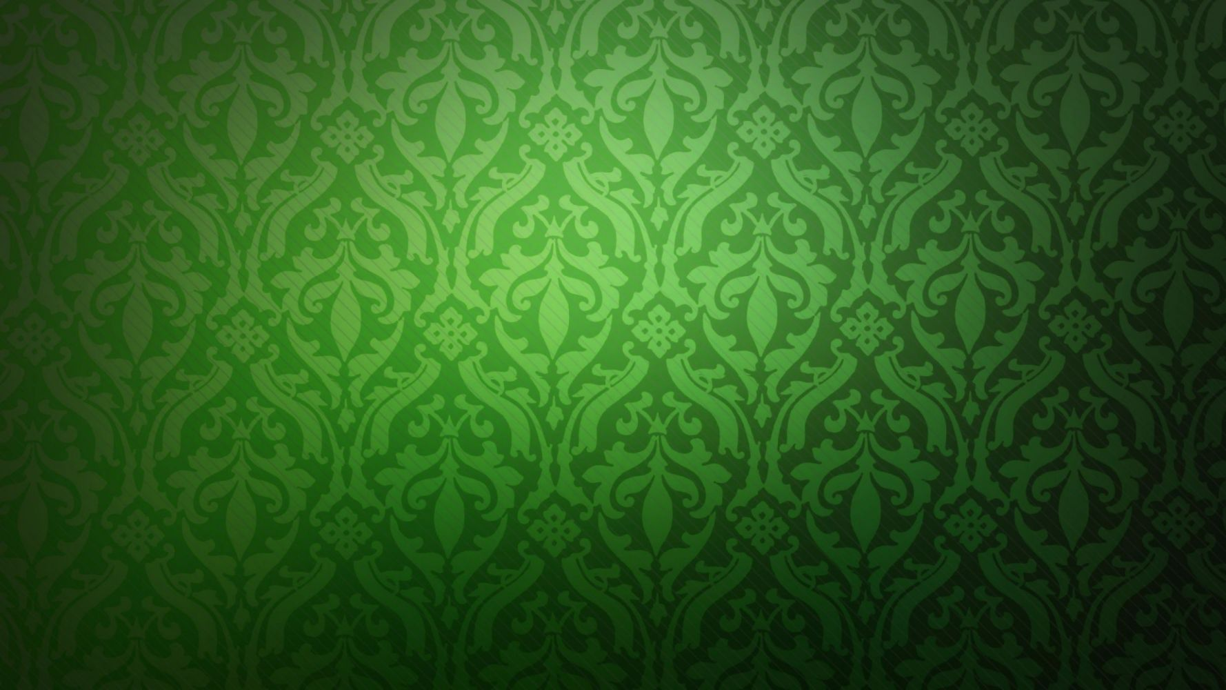 Hoa văn nền xanh lá