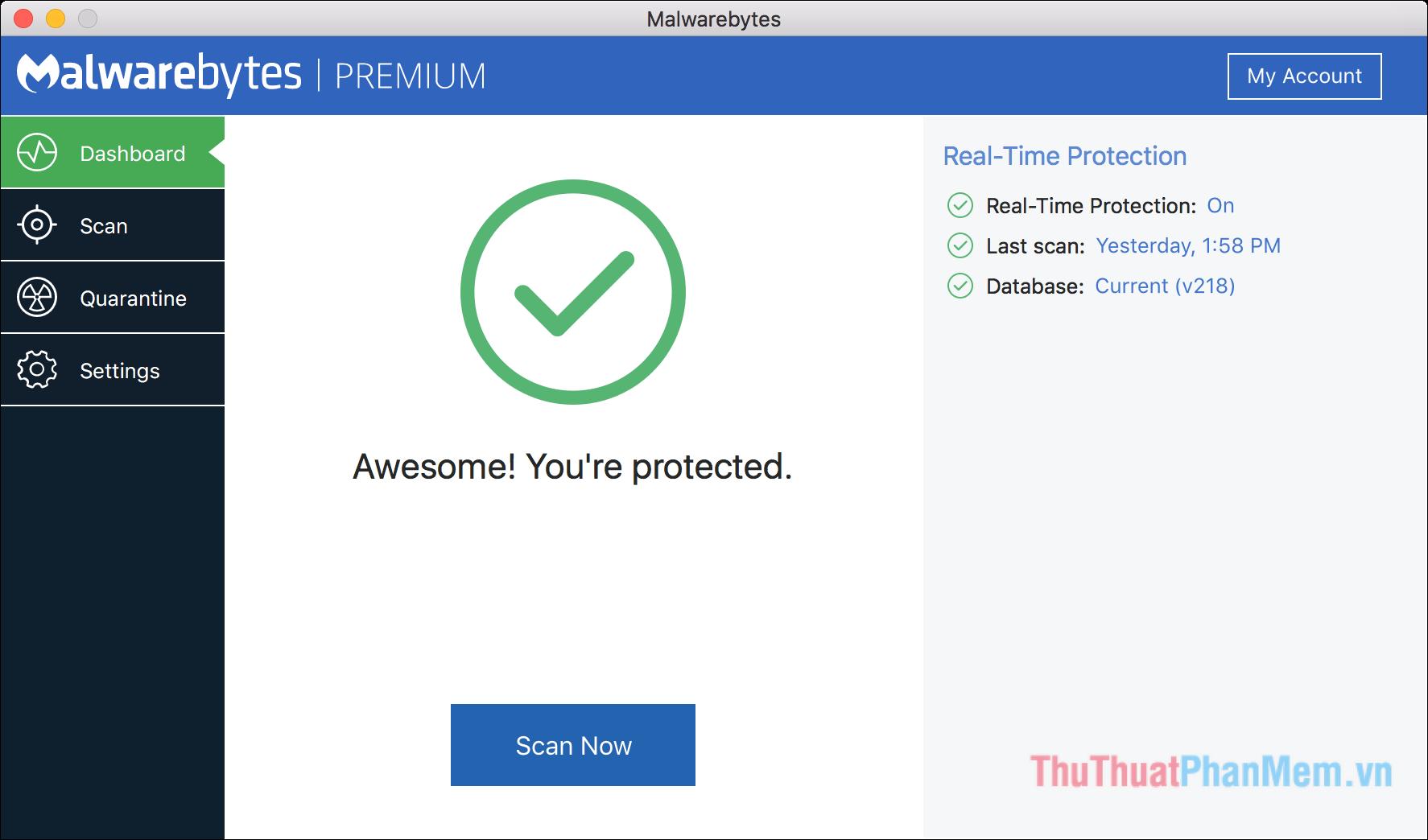 Malwarebytes cho Mac