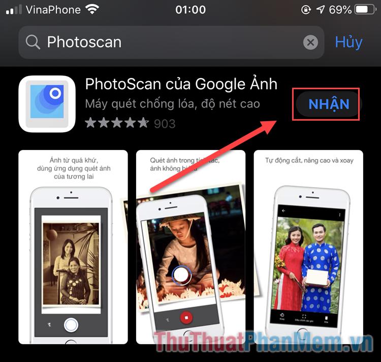 Tải về PhotoScan