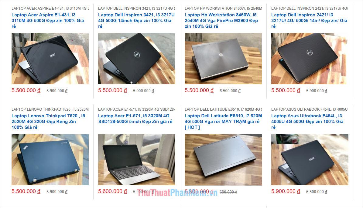 Laptop Minh Mẫn