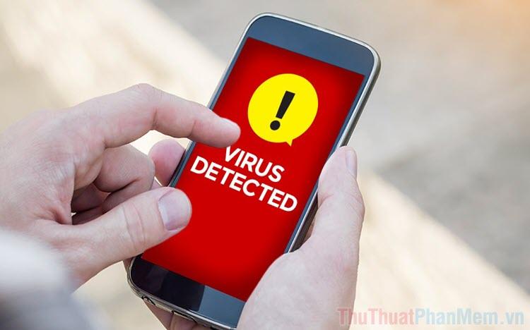 Những dấu hiệu điện thoại bị nhiễm virus