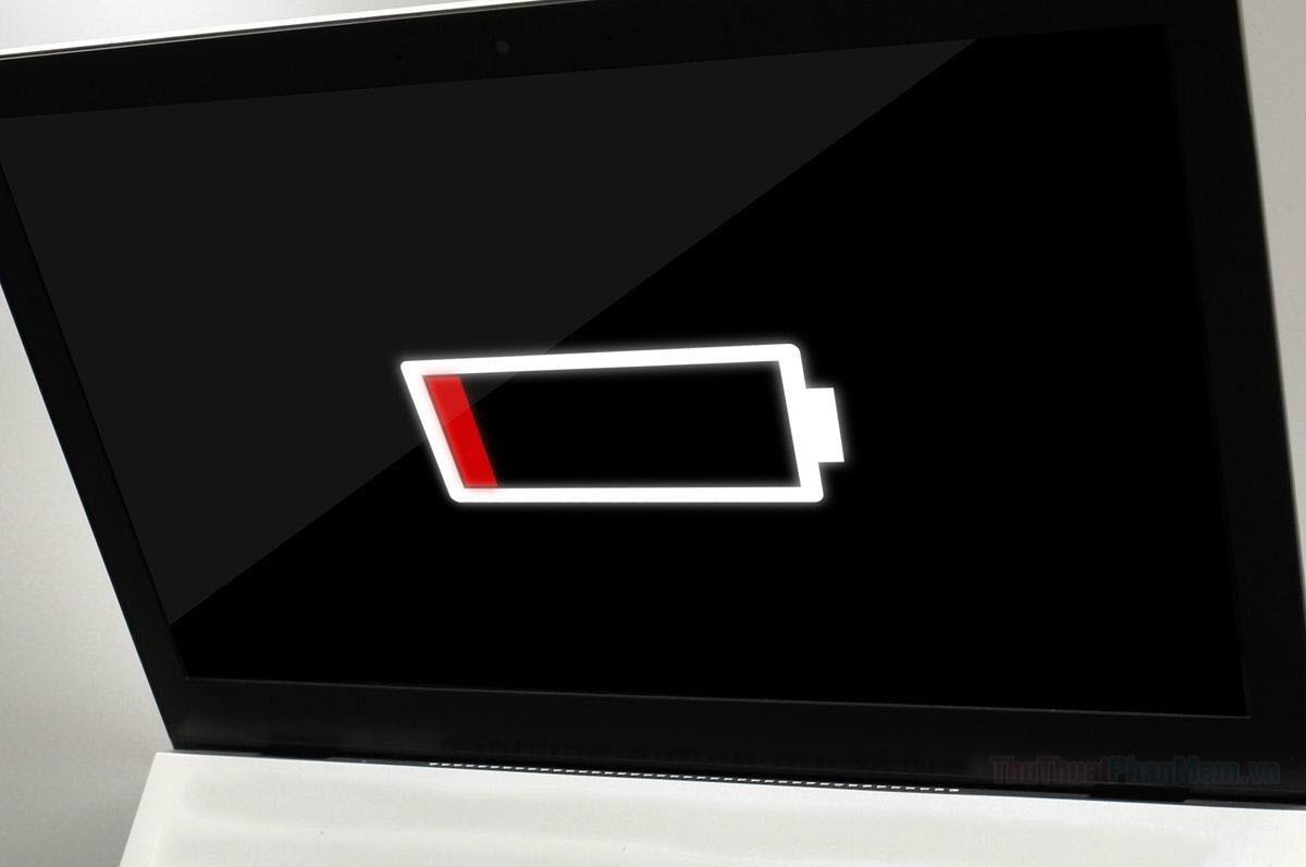 Khởi động lại Laptop trước khi sạc Pin