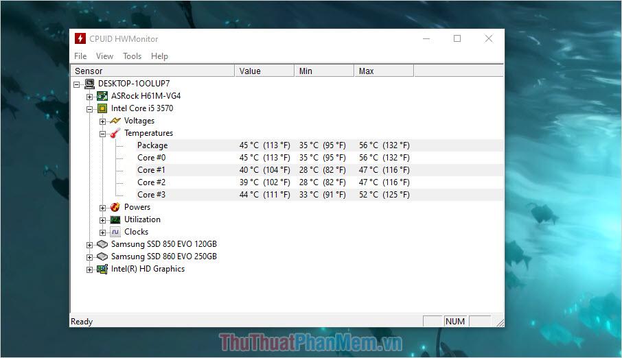 Nếu như nhiệt độ của CPU vượt ngưỡng 90 độ C thì có lẽ các bạn cần kiểm tra hoặc thay thế tản nhiệt